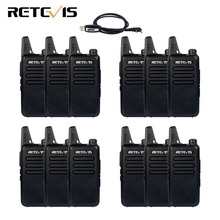 12pcs Mini Walkie Talkie Retevis RT22 Extreme Ultra-thin UHF 400-480MHz CTCSS/DCS Ham Radio Hf Transceiver Portable A9121A(China)