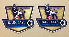 1314 EPL Premier League goalden champion soccer patch for 2014-2015 season city game soccer Badges free shipping