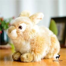 Cute Baby Toys  Plush  Dutch Rabbit Doll  Simulation Mixing Rabbit Stuffed Toy  Gift Store