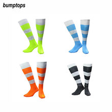 Jacquard Anti Slip New Men's Soccer Socks 2016 17 Football Sports Great Quality Plain Hose Breathable Stockings Different Colors