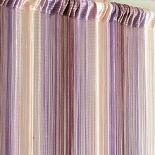 New Mixed Colors Line String Window Curtain Tassel Door Room Divider Scarf Valance(China)