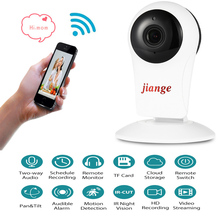 Jiange SJG - C - K2 720P WiFi Nigh Vision Camera TF Cloud Storage IP Motion Detection Camera Support IR-CUT Home Security Cam