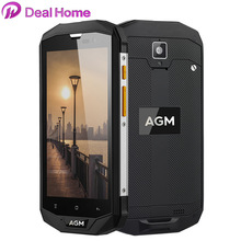 "AGM A8 SE IP68 Waterproof 4G smartphone QUALCOMM MSM8916 5.0""HD 4050mAh 2GB+16GB 8MP Water Dust Shock Proof Mobile Phone"