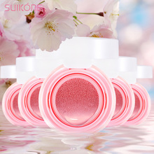 Suikone Moving 2 styles mineral cheek Cushion blusher Cosmetics makeup beauty Natural Moisturizer blusher Palette wholesale