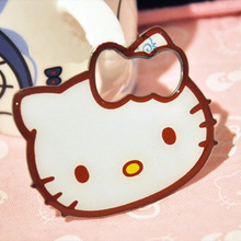 1 Pcs Kawaii Cartoon Kitty Cat Stainless Steel Beer Bottle Opener with Magnet.Kitty Fridge Magnet.Wine Opened.Free shipping(China)