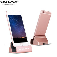 VOXLINK USB Charger Dock Stand Station For Apple iPhone 7 Plus 6 6s plus 5s 5c Sync&Data Charging Docking Bracket Cradle(China)