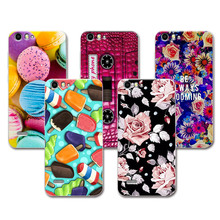 ZTE A511 Lovely Fashion Painted Cases ZTE Blade A515 A511 Case Cover Art printed Soft TPU Funda ZTE A 515 A 511 5 inch+Free Gift