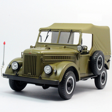 * 1:18 U.S.S.R. Soviet Union GAZ69 GAZ69A Russian Military Jeep Truck Two Doors with Calash Diecast Model USSR GAZ 69
