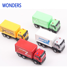 1:55 Alloy Metal Container Model The Postal Express Delivery Truck Brinquedos Kids Toys For Children Automotivo Toys For Kids