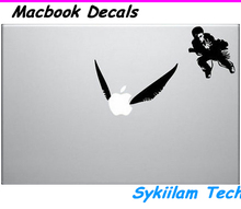 Cartoon Harry Potter Flying Ball Sticker for Apple Macbook Skin Air 11 13 Pro 13 15 17 Retina Laptop Car Wall Vinyl Logo Decal