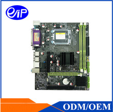 Low Price G41 LGA775 DDR3 Desktop mainboard IDE COM VGA USB Core 2 Duo/Core Duo Micro ATX motherboard(China)