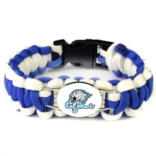 KHL Kazakhstan Astana Barys Ice Hockey Team Paracord Bracelets Braided Bracelets For Outdoor Camping Survival Bracelet & Bangle