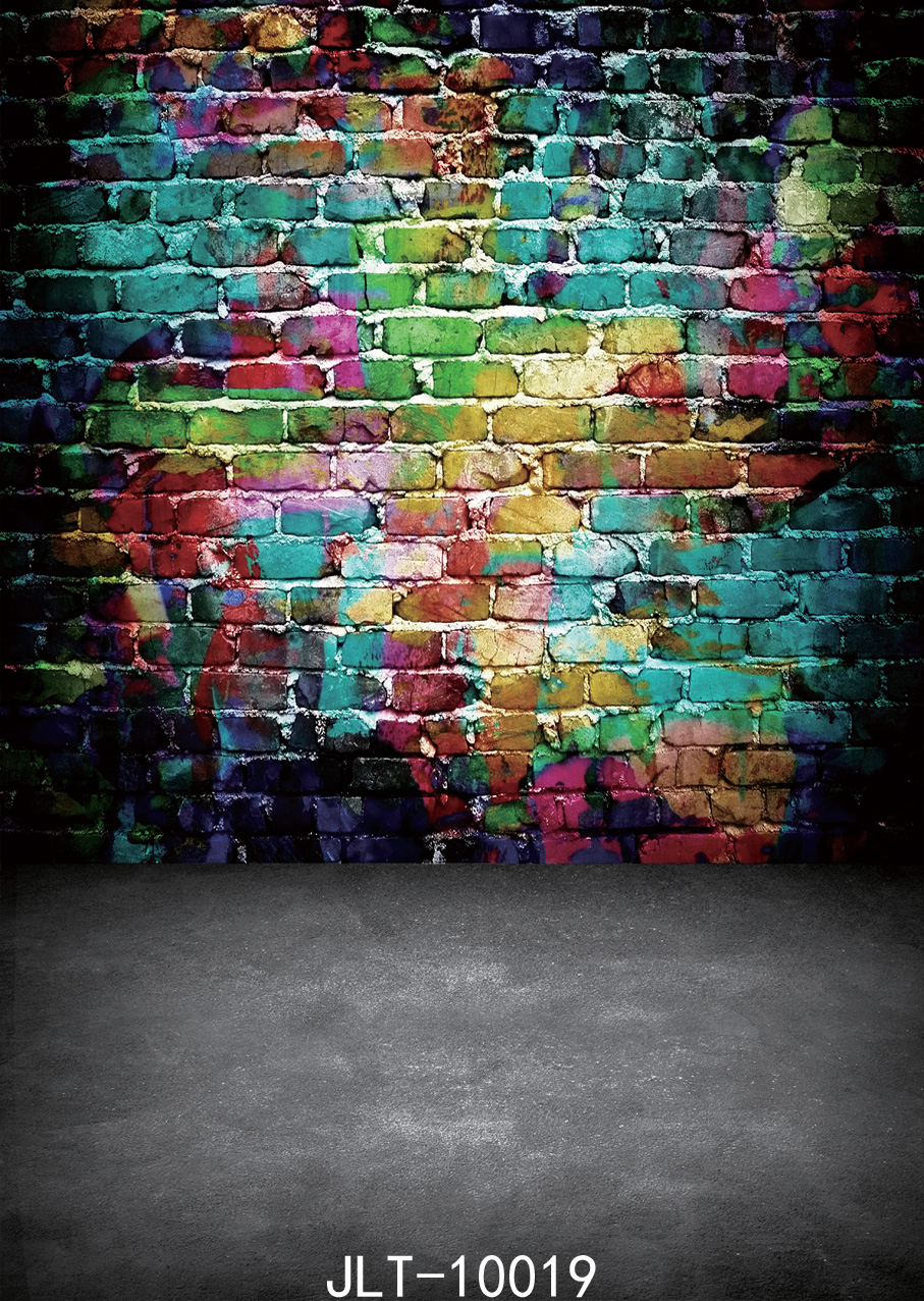 Wall graffiti image background Children photography background fond studio photo vinyle   backgrounds for photo studio 10x10ft<br><br>Aliexpress