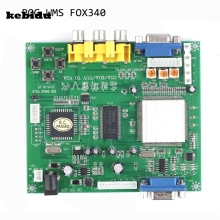 kebidu RGB CGA EGA YUV Male to VGA Female Digital Video Converter Board Model HD9800 GBS8200 Supports All Types of VGA Monitors(China)