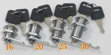 30pcs/lot 16mm Cam Locks  Cabinets Desks Boxes Furniture Drawer lock up