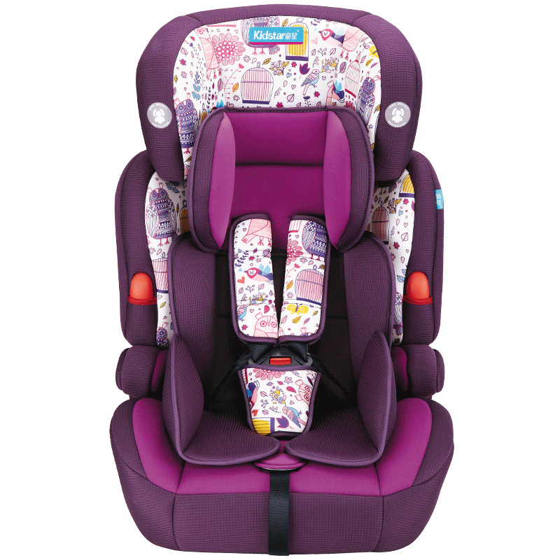 fashion child car seat safety carseat for 9 months 12 years old kids baby auto chair with isofix