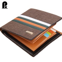 2017 new designer leather wallet men wallets luxury brand clutch wallet Brown money clip men's leather wallet male purse cuzdan