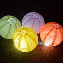 2017 New Hot 1 Piece 8 Inches Multicolor Paper Sky Lanterns Wedding Birthday Decorations Event & Party Supplies