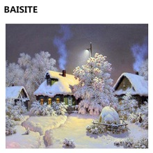 BAISITE DIY Oil Painting By Numbers Hand Painted Modern Wall Canvas Painting Picture For Living Room Home Decor Wall Art H357