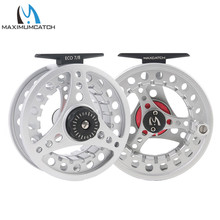 Maximumcatch High Quality ECO 1-8WT Fly Reel Large Arbor Aluminum Fly Fishing Reel Hand-Cnanged Fishing Reel(China)