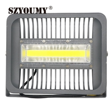 SZYOUMY LED 150W Flood Light 50W 70W 100W LED Reflector Spot light COB Integrated Driver For Outdoor Wall Lamp Garden Projector