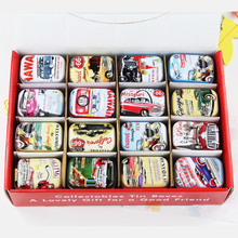 New Arrival Mini Tin Box Small Metal Candy Box Accessories 32Piece/Lot Mac Makeup Organizer Wedding Favor Gift Case Container