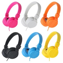 Foldable On Ear Audio Adjustable Lightweight Headphone for children Cell Phones Smartphones Phone Laptop Computer Mp3/4 Earphone