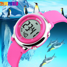 SKMEI 1100 Children watch LED Digital Sports Relojes Mujer Boys girls fashion Kids Cartoon Jelly Waterproof Relogio Feminino - China Watch Store store