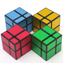 Educational Games Puzzles Strange Shape Magic Cube Mirror Cast Oyuncak Polymorph Plastic Cubos Magicos Intelligence Toys 60D0733