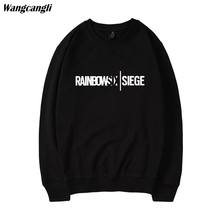 Rainbow six siege Hoodies Sweatshirts Zip Winter Warm Sweatshirts Coats Harajuku Hoody Sweatshirts Men Rainbow six siege
