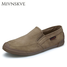 Buy MIVNSKVE Men's Loafers 2017 spring mens fashion leisure brand canvas men shoes High Men's flat casual shoes size 39-44 for $19.77 in AliExpress store