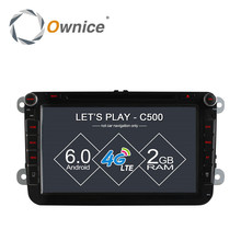 Octa Core Android 6.0 2G RAM 4G LTE Wifi Car DVD Player for VW Polo Passat B6 CC GOLF Tiguan Jetta Touran Seat Leon GPS Radio(China)
