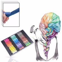 1Set Temporary Color Dye Hair Chalk Sexy Master Pastels Hot Color Non-Toxic or DIY Beauty Hair Style(China)