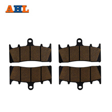 AHL 2 Pairs Motorcycle Front Brake Pads for KAWASAKI ZX 6R 7R 9R 12R ZZR 600 GPz 900R ZRX 1100 1200 VN 1500 1600 ZX-6R(China)