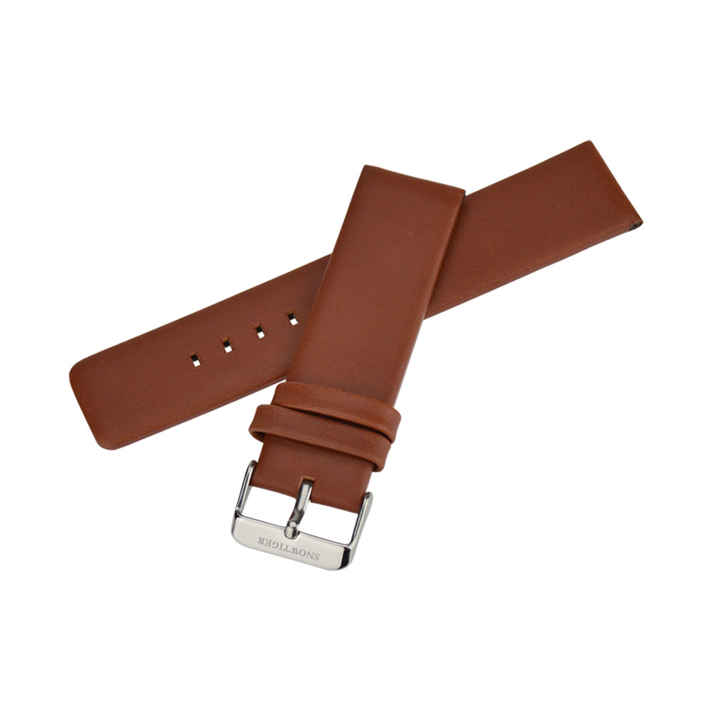 22mm Watch strap watchband soft and comfortable genuine leather male watch band accessories<br><br>Aliexpress