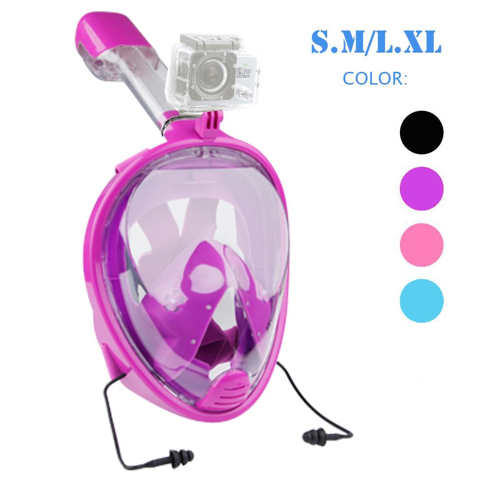 Snorkel mask diving mask
