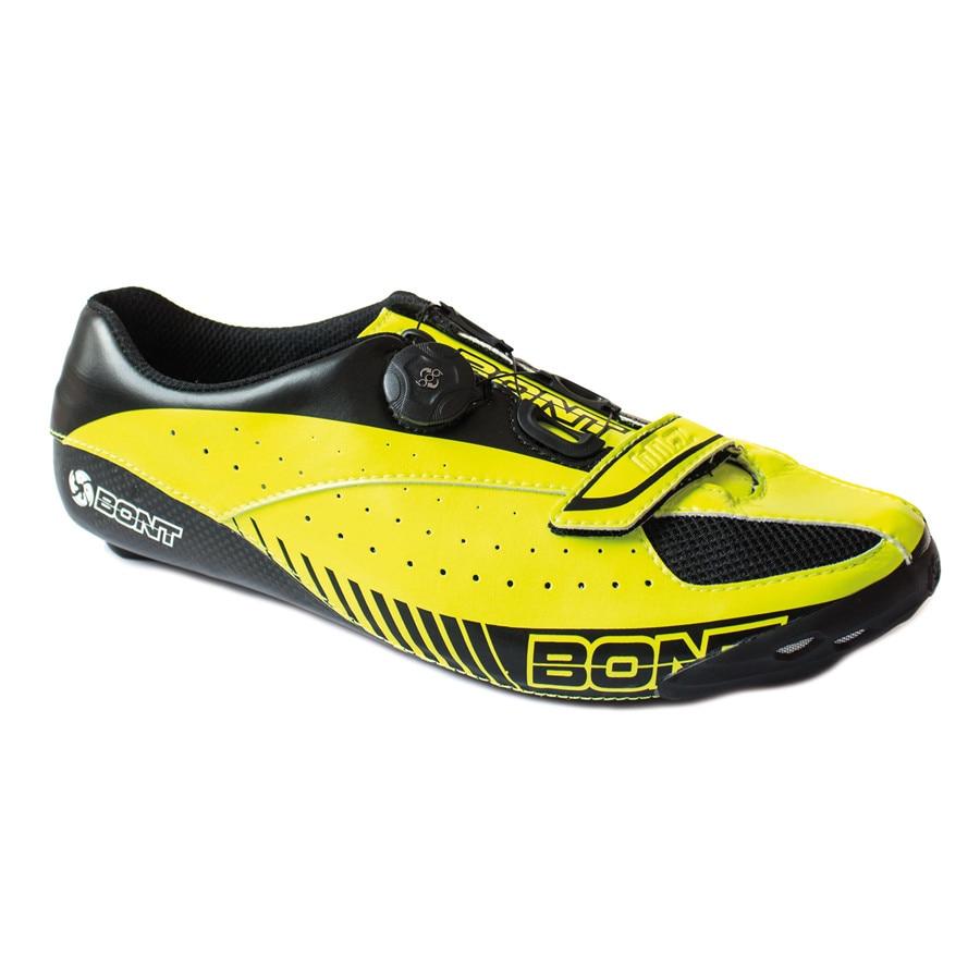 Bont-Blitz-Road-Shoe-Black-Yellow-EU-44-5-Road-Shoes-Neon-Yellow-Black-2018-BLNY-44-0