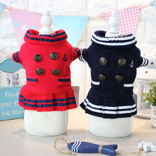 Royal dog cat pet skirt Princess luxury bow dress winter warm small dog puppy wool coat jacket hoodie chihuahua dog clothes(China)