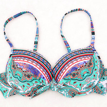 Only Top Of Sexy Bikinis Women 2018 Push-Up Swimsuit Padded Bikini Set Plus Size Swimwear Female Bathing Suit Beach Biquini(China)
