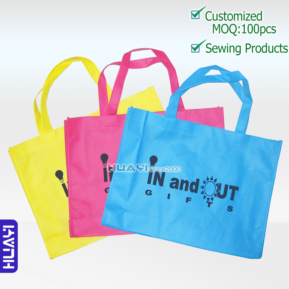 non woven bags shopping bags promotional bags gift bags with custom logo(China (Mainland))