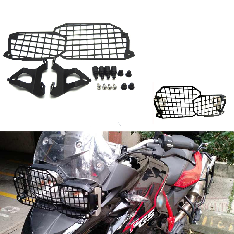 KEMiMOTO For BMW F800GS Quick Release Stainless Steel Headlight Guard For BMW F800GS F700GS F650GS Twin 2008-on <br>