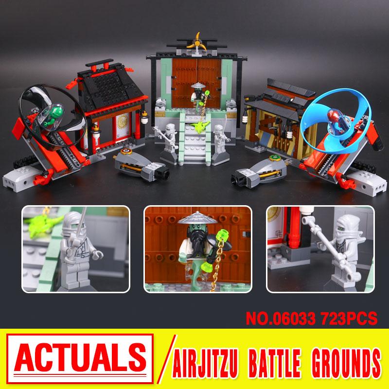 Lepin 06033 Compatible Airjitzu Battle Grounds 70590 Building Blocks Figure Toys For Children<br><br>Aliexpress