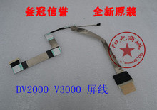 Free Shipping New Screen LCD Cable for HP V3000 DV2000 V3700 V3500 Series Laptop