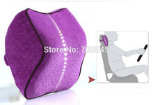 Velvet fabric Memory foam Car Pillow healthy car neck pillow square,head cushion for car(China)