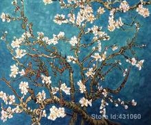 Wall art for office high quality Vincent Van Gogh's hand painted oil paintings Branches of an Almond Tree in Blossom II