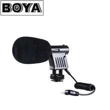 BOYA BY-VM01 Pro Video & Broadcast Directional Condenser Recording Microphone for Nikon Canon Sony DSLR Cameras DV Camcorders
