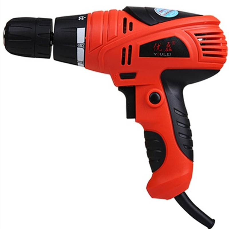 2016 Hot Sale 220v 350w High Quality Eu Plug Torque Electric Drill Power Tools Mini Battery Screwdriver Woodworking Household <br><br>Aliexpress