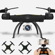 Selfie Drone With Camera Fpv Rc Drone 6-axis Rc Helicopter Wifi Big Shatter Resistant Quadcopter Toy For Children Ky501 Dron(China)