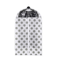 Home Clothes Garment Cover Case Dustproof Storage Bags Protector Fashion Non Woven Fabric Storage Basket Bag Protector