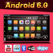 Quad Core Android 6.0 2din Car Non DVD Player GPS PC For Toyota Tiida Qashqai Sunny X-Trail Paladin Frontier Patrol Versa Livina